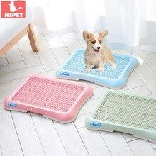 купить Indoor Dog Toilet Tray Portable Pet Toilet For Dog Cat Easy to Clean Plastic Medium Large Dogs Puppy Toilet Mat Cat Litter Box дешево