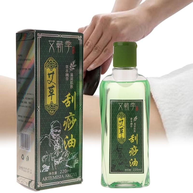 Terapia di raschiatura della stazione termale di massaggio del corpo di erbe cinese dell'olio essenziale di assottigliargy 220ml 2