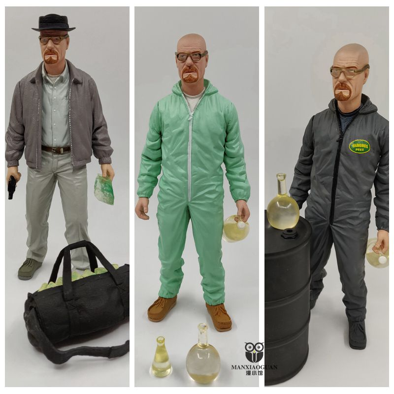 box Gift 6inch Breaking Bad Heisenberg Walter White Action Figure Collectible Figure Model Toy Classic Toys Gift free shipping image