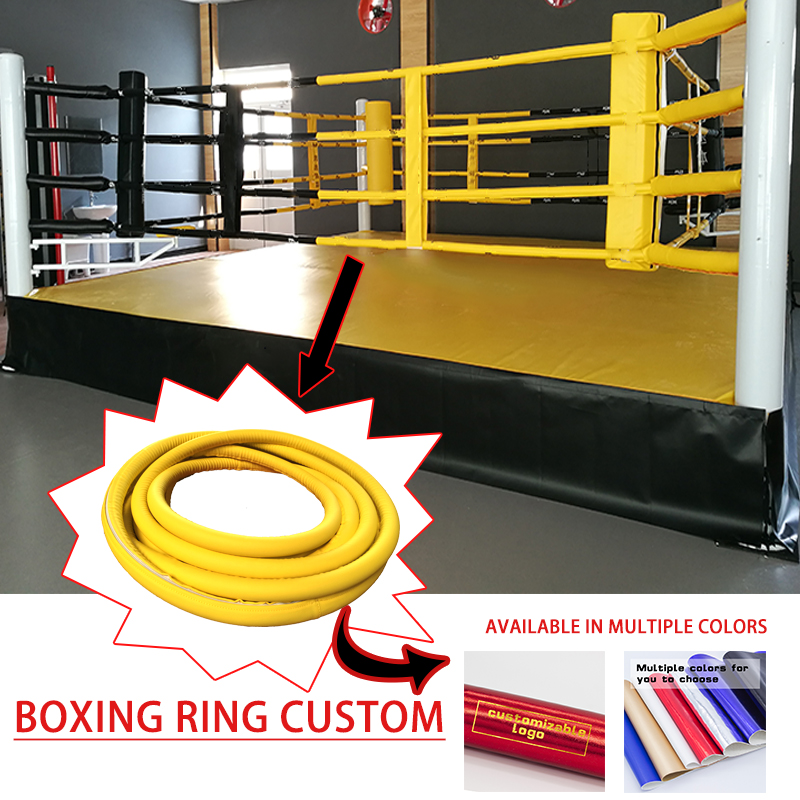 Boxing Ring Sanda Table Floor-Standing Table Ring MMA Competition Wrestling Table Outer Rope Skin Customization