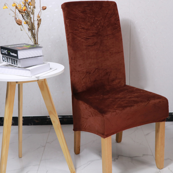 1 2 4 6 sztuk shiny velvet tania tkanina pokrowce na krzesła uniwersalny rozmiar pokrowce ze stretchem na siedzenia case slipcovers do jadalni tanie i dobre opinie CN (pochodzenie) YT-01 W jednym kolorze Nowoczesne krzesło plażowe Na fotel Hotel krzesło Krzesło na ślub Krzesło bankietowe