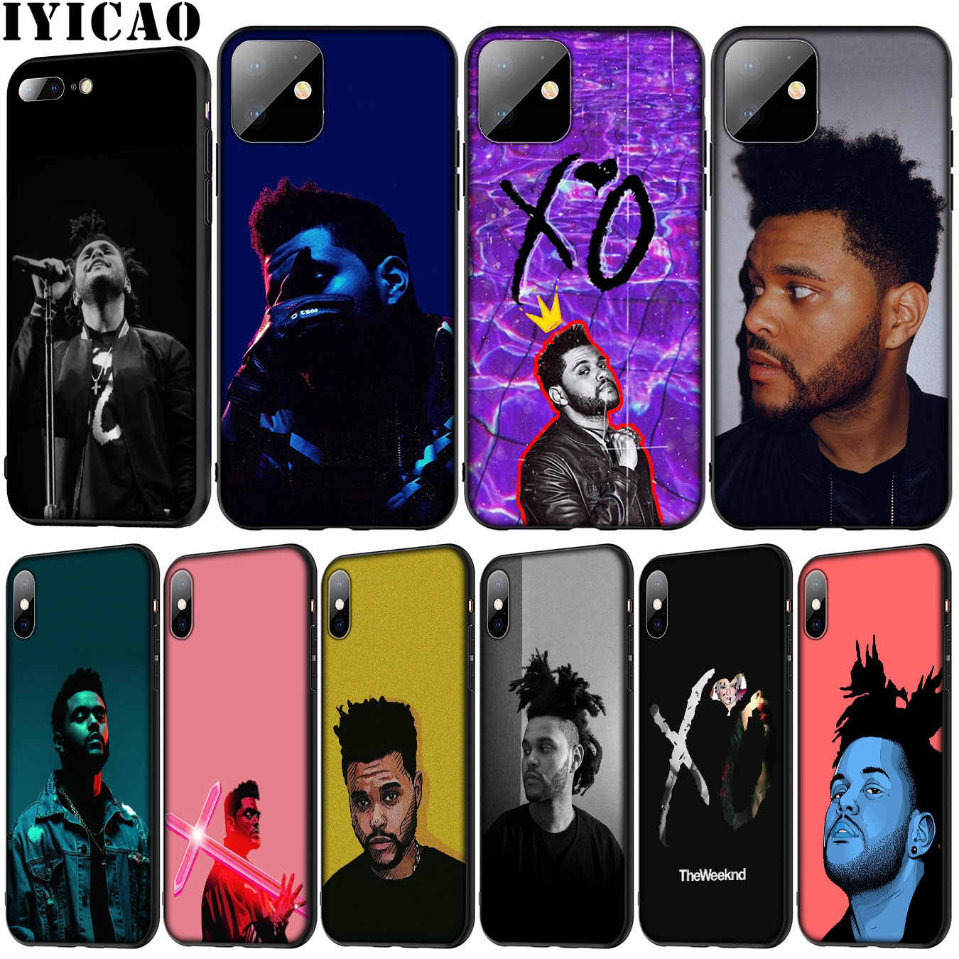 The Weeknd Keren Lembut Silicone Ponsel Case untuk iPhone XR X XS 11 Pro Max 5 5S SE 6 6S 7 7 Plus Tpu Cover
