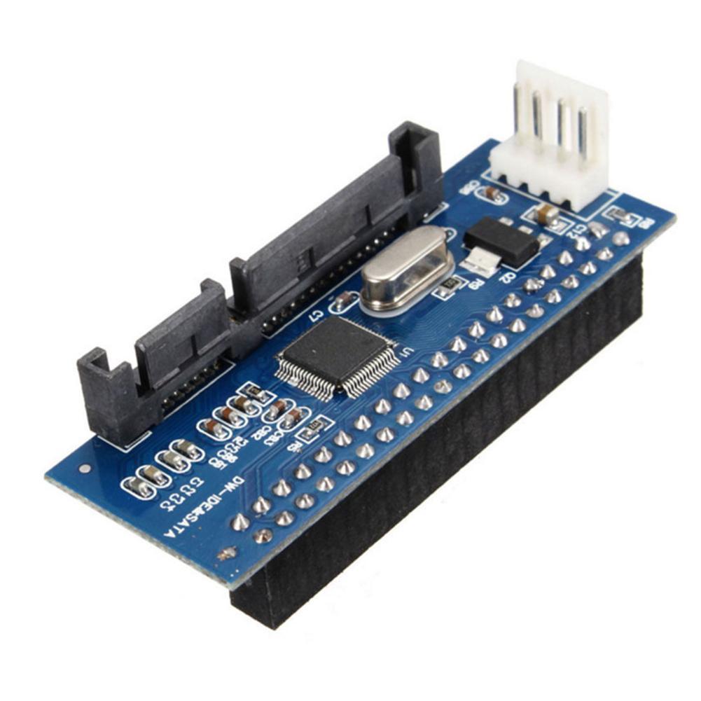 Adaptateur IDE SATA 40 broches IDE vers SATA connecteur 3.5 HDD nouvel adaptateur disque dur IDE/PATA Par A3T7 convertisseur série U1Z7