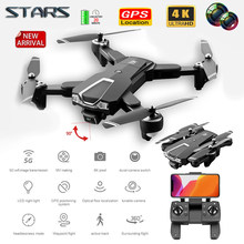 Stars Ls25 Rc Drone 6k 4k Ultra Hd Dual Camera Ptz Drone 5g Wifi Gps Height Maintain Headless Mode Rc Quadcopter 6k Professional
