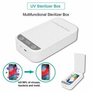 Image 2 - Bakeey UV טלפון sanitizer רב תכליתי אוטומטי UV חיטוי תיבת עבור פנים מסכת מברשת שיניים נייד טלפון יופי Underwea