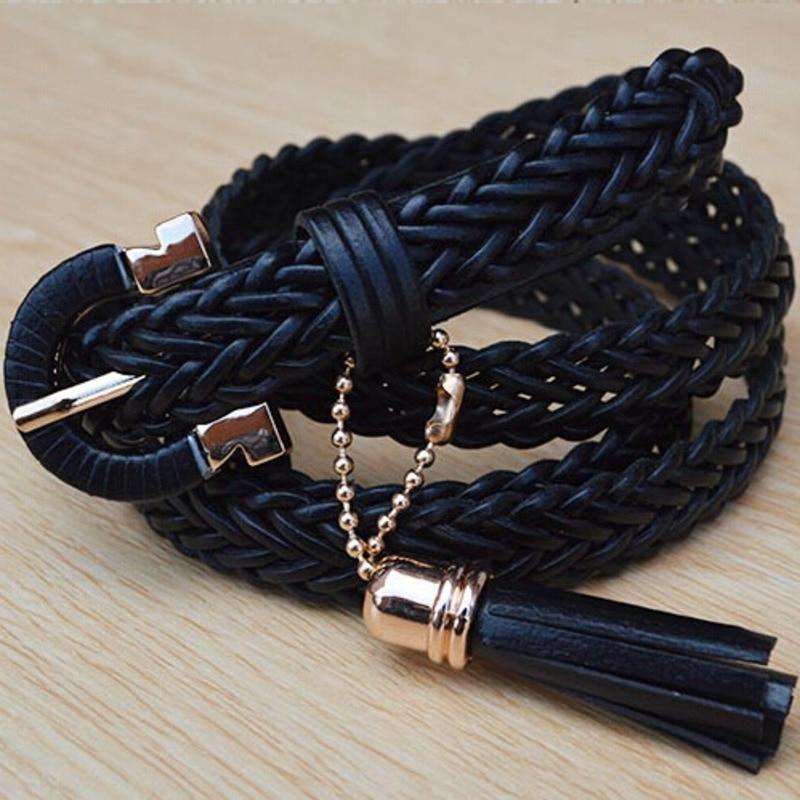 New Design Belts For Women Corset Belt 2020 Trendy Braided Belt Stylish Waistband Solid PU Wide Belt Fashion Female Tide ZK701