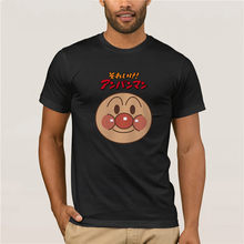 2019 Nieuwe Collectie Mannen Anpanman T-shirt Cartoon Brood Superman Grappige Mannen T-shirt Zomer Korte Mouw Anime(China)