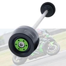 Proteção da roda deslizante do eixo dianteiro da motocicleta para kawasaki z900 z650 z800 z750 z1000 z1000sx