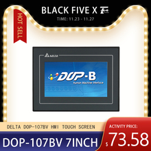 Human-Machine Touch-Screen HMI DOP-107BV Delta with Interface 7inch Data-Cable B07S410