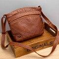 Винтажный стиль-2021, новый дизайн, женские кошельки, сумочки, сумки на плечо из мягкого материала, Высококачественная женская сумка в подарок