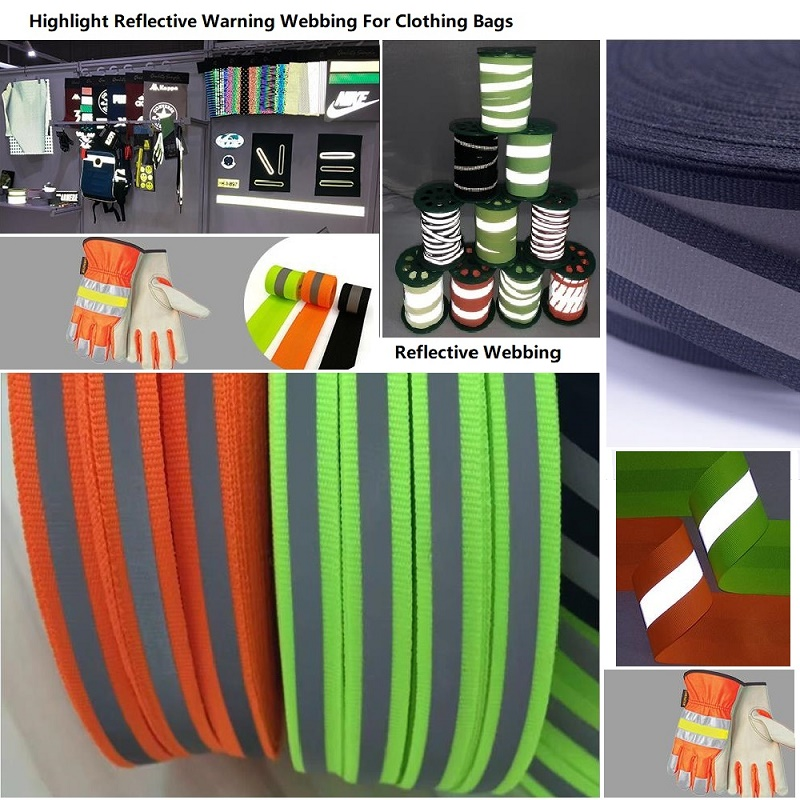 3CM 4CM  5CM  Reflective Warning Webbing Clothing Accessories Reflective Strips