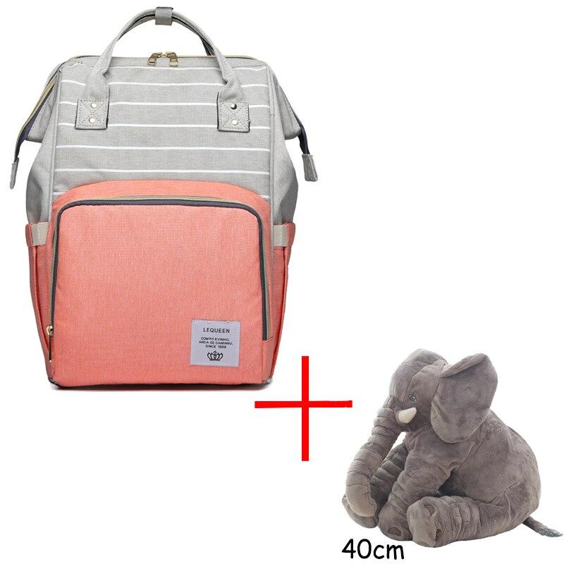 40cm Elephant And Bag