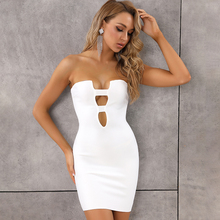 Miễn Phí Vận Chuyển Nữ Mùa Hè Thời Trang Chắc Chắn Gợi Cảm Lỗ Chìa Khóa Trắng Đỏ Băng Đô Đầm Lưới Hoa 2020 Nhà Thiết Kế Thời Trang Trang Phục Dạ Hội Đầm Vestido
