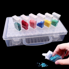 Контейнеры для хранения алмазной живописи, портативный контейнер для хранения бусин, 64 аксессуары для алмазной живописи