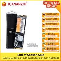 HUANANZHI-disco duro interno para ordenador portátil, unidad SSD M.2 NVME de 128 GB, 256 GB, M.2, PCIE, NVME