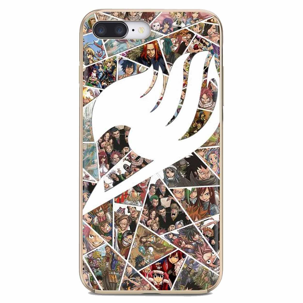 For BQ BQS S 5059 5035 6040L For HTC U11 U12 Plus For LG K10 K8 K7 K4 2017 Japan Rare Fairy Tail Full family Silicone Skin Cover