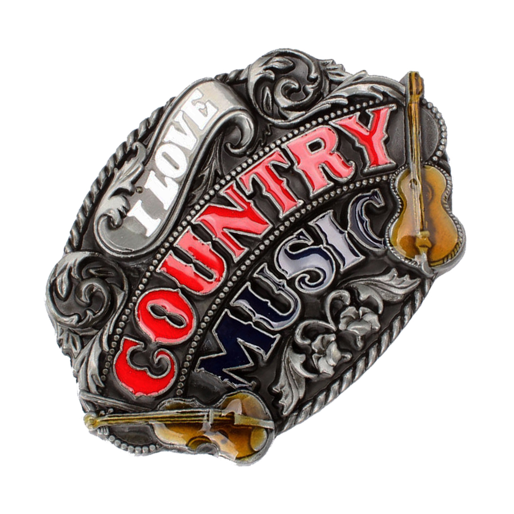Cool Man Country Belt Buckle Music Guitar Western Countryside Rodeo Cowboy Buckle пряжка для ремня Belt Buckles For Men