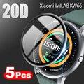 20D изогнутый край полностью мягкая защитная пленка для Xiaomi Imilab KW66 Bluetooth 5,0 Смарт-часы защита экрана (не стекло