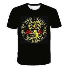 Cobra Kai Kids T-Shirts Big Boys and Girls 4 to 14 Thai Viper T-Shirts Teenagers O Collar 3D Printed Funny T-Shirts 7 8 9 10 11