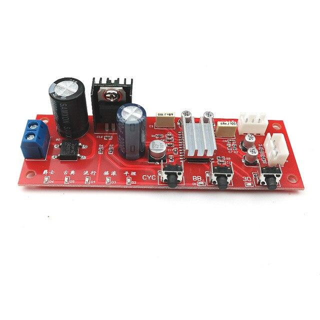 SOTAMIA мощность усилитель предусилитель звуковая обработка плата DJ эквалайзер тональная плата с усилением басов 3D объемное звучание