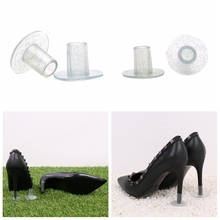70 Pairs/Lot Silicone High Heel Covers Plastic Shoe Heel Protector for Grass High Heel Guards in Shoe Care Kit for Wedding Party цена 2017