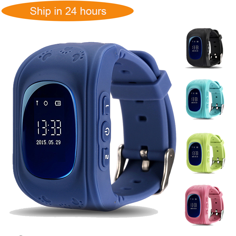 TWOX HOT <font><b>Q50</b></font> Smart watch Children <font><b>Kid</b></font> Wristwatch GSM GPRS GPS Locator Tracker Anti-Lost <font><b>Smartwatch</b></font> Child Guard for iOS Android image