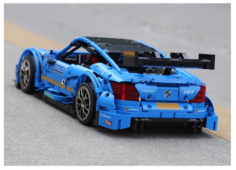 c63 velocidade carro conjunto blocos de construção