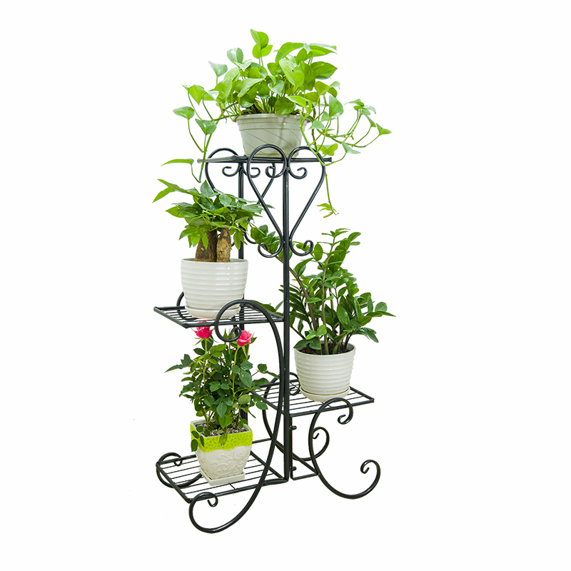 Blume Rack, Multi-schicht Eisen Art Indoor Blume Rack, Wohnzimmer, Landung Blume Rack Balkon, grün Blume Rack, Blume Rack,