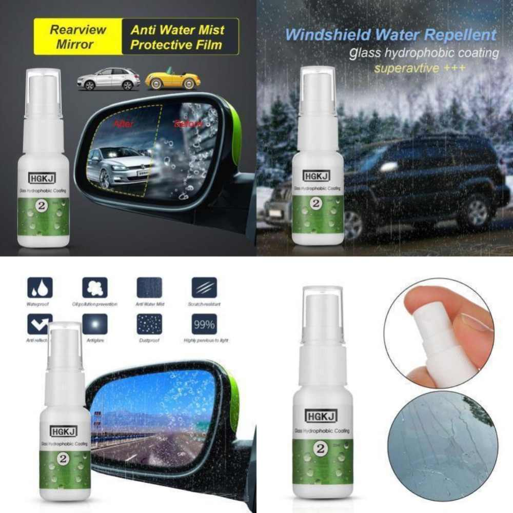 HGKJ-2-20ml 防水防雨防曇剤ガラス疎水性ナノコーティングスプレー車の窓ガラスカーアクセサリー TSLM1