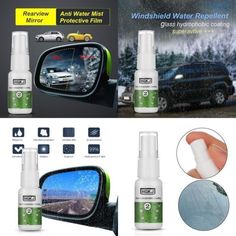 HGKJ-2-20ml Waterproof Rainproof Anti-fog Agent Glass Hydrophobic nano Coating spray For Car Window Glass Car Accessories TSLM1 Islamabad