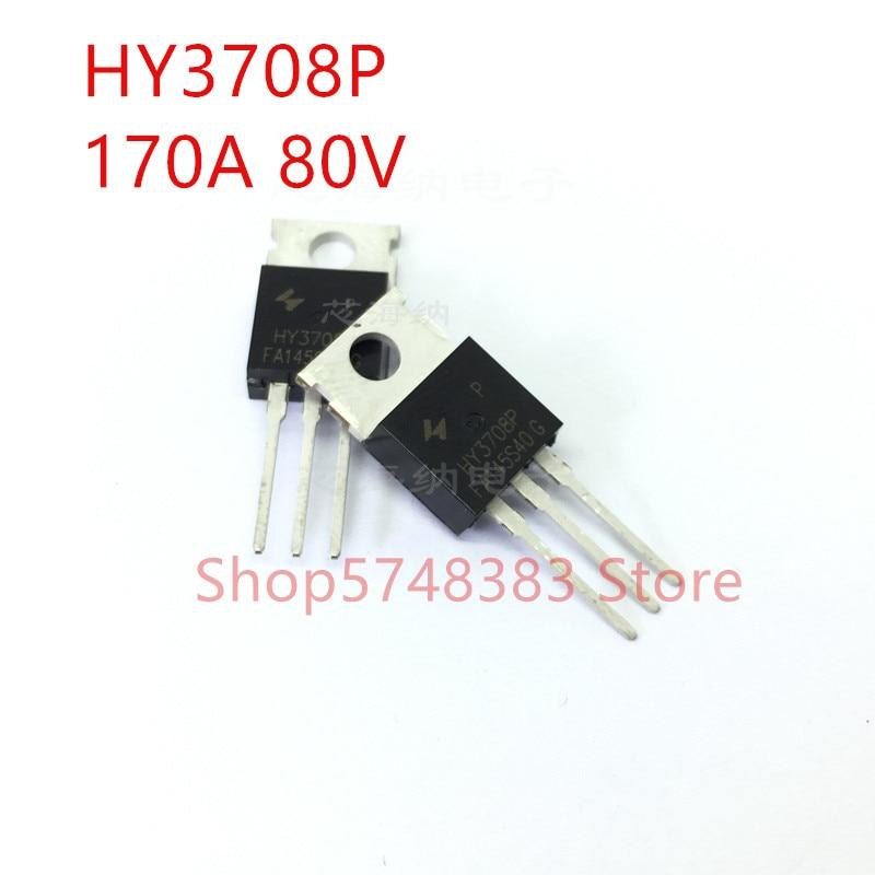 10PCS/LOT 100% New Original HY3708P TO-220 HY3708B TO-263 HY3708 80V 170A MOS Tube