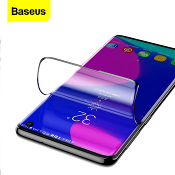 цена на Baseus 2PCS Screen Protector For Samsung Galaxy S10 Plus No Tempered Glass Front Protective Film For Samsung S10 S 10 S10plus