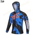 Рубашка Daiwa 2020  спортивная одежда для рыбалки на открытом воздухе  мужские рубашки для рыбалки с длинным рукавом  дышащая быстросохнущая кур...