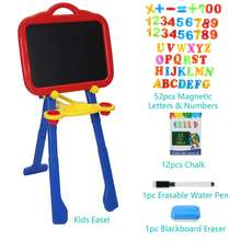 Baby Drawing Board Foldable Kids Painting Blackboard Portable Drawing Small Table Children Education Sketchpad Toy Easy To Store