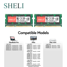 SHELI 2x 8GB PC3-12800 DDR3 SODIMM Memory RAM for APPLE MacBook Pro iMac Mac mini