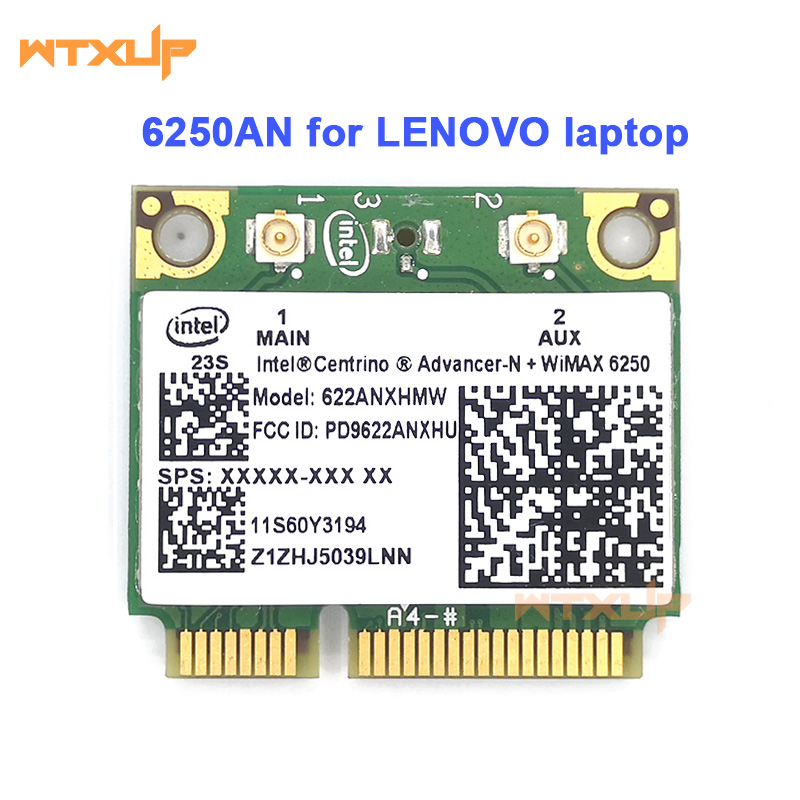 Wireless Network Card 622ANXHMW 6250AN 300Mbps WiFi Adapter for Lenovo/Thinkpad T420 T430 X200 Intel Advanced-N 6250 FRU 60Y3195(China)