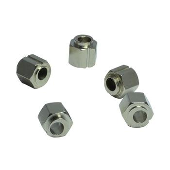 Tienda de impresoras 3D, 5 uds., tuerca de tornillo de 5mm, espaciadores excéntricos para extrusión de aluminio de rueda en V