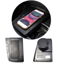 For BMW 3 4 Series F30 F31 F32 F33 F34 F35 F36 car QI wireless charger charging module cup holder panel accessories for iPhone 8