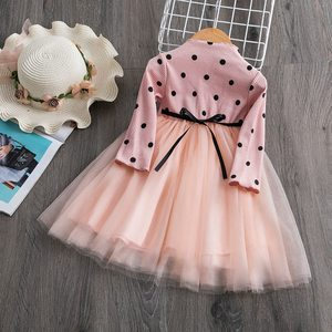 Kids Dresses for Girls 2020 Winter Cotton Flower Baby Dress Clothes 1 year Newborn Girl Clothing vestido infantil fille(China)