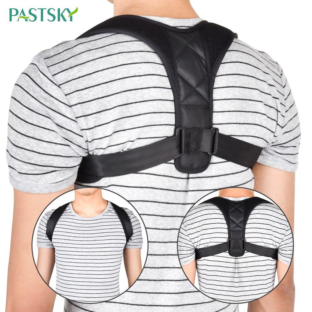Adjustable Back Posture Corrector Clavicle Spine Shoulder Lumbar Support Belt Prevent Humpback Sitting Position Correction