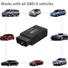 ELM327 WIFI V1.5 OBD2 Car Fault Detector Automotive Diagnostic Tools Code Reader For Cars Voiture Accessoires Car Tools Dropship