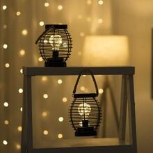1 шт Креативный светодиодный Железный фонарь Ночной светильник