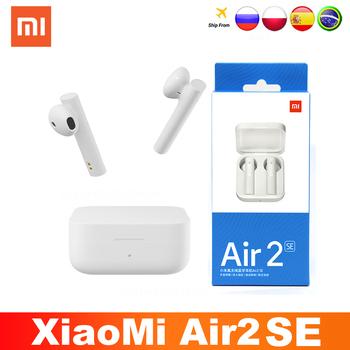 2021 Xiaomi Air2 SE TWS oryginalny bezprzewodowy Bluetooth 5 0 słuchawki AirDots 2SE Mi prawdziwe Redmi Airdots słuchawki douszne Air 2 SE Eeaphones tanie i dobre opinie MEP100 Zaczepiane na uchu Technologia hybrydowa CN (pochodzenie) Prawdziwie bezprzewodowe Do kafejki internetowej Słuchawki do monitora