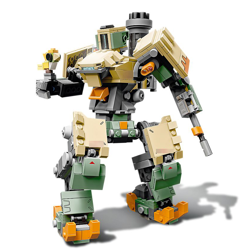 75974 Game Bastion Mecha Overwatchings Set Building Block Brick Educational DIY Toy For Children Gifts