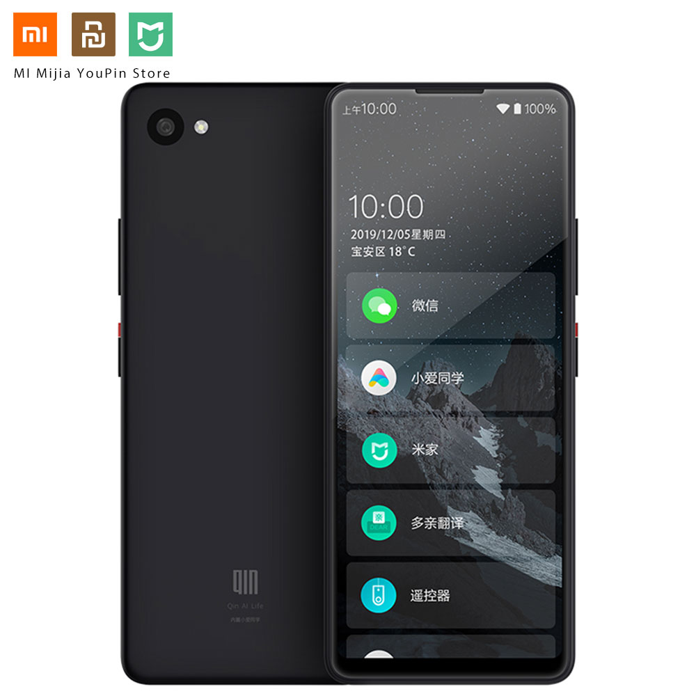 Xiaomi QIN 2 Pro Full Screen Phon E 4G Network With Wifi 5.05 Inch 2100mAh Andriod 9.0 SC9863A Octa Core Feature WIFI Translator