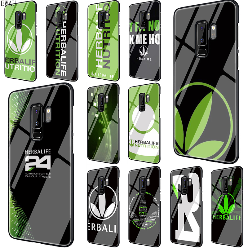 EWAU Herbalife Tempered Glass phone case for Samsung S7 S8 S9 S10 Note 8 9 10 plus A10 20 <font><b>30</b></font> <font><b>40</b></font> <font><b>50</b></font> <font><b>60</b></font> <font><b>70</b></font> image
