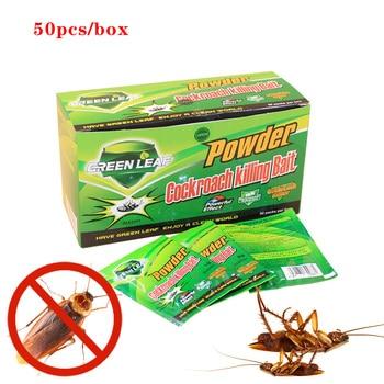 EZ4U Killing Roach Bait Cockroach Killing Bait Pest Control Powder 50-Pack killing joke london