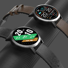 Ecg ppg hrv relógio inteligente masculino 1.3