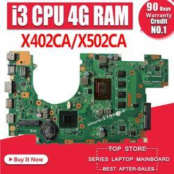 X402CA материнская плата 4G RAM i3 для For Asus X502CA X402CA X402C материнская плата для ноутбука X402CA материнская плата X402CA материнская плата Тест 100% ok