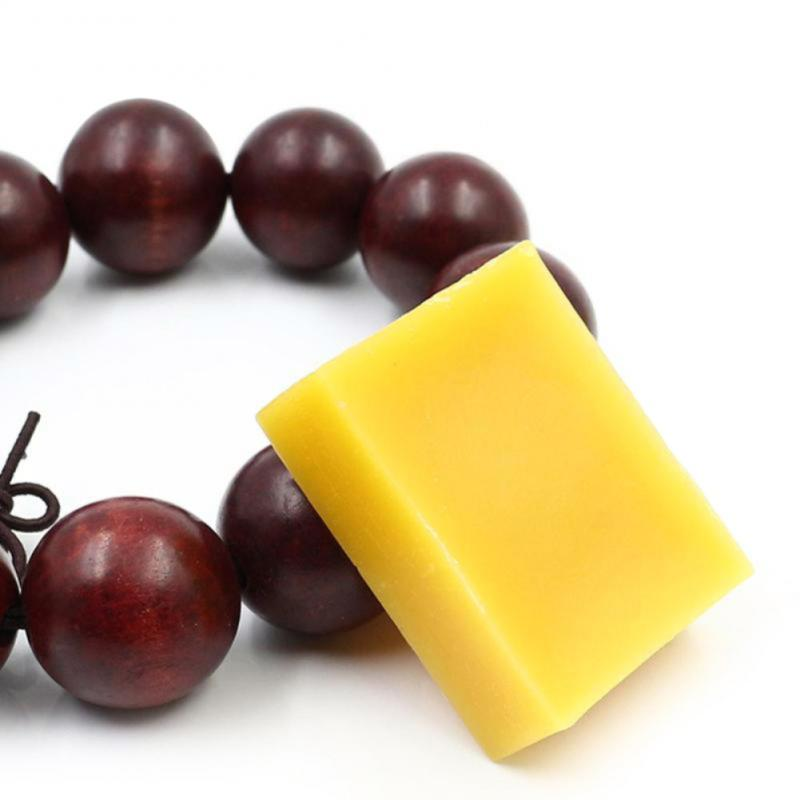 1/2/5pcs 100% Organic Natural Pure Beeswax Honey Wax Bee Cosmetic Maintenance Protect Wood Furniture Floor Polishing Wax TSLM1